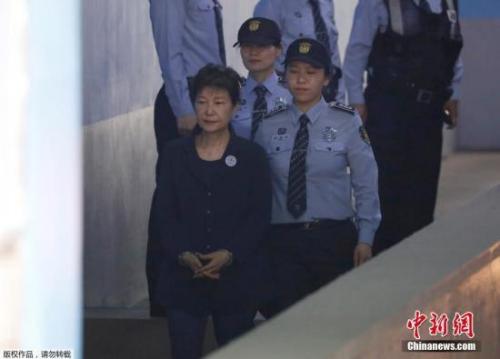 朴槿惠入狱金&#x6C
