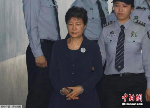 资料图:朴槿惠