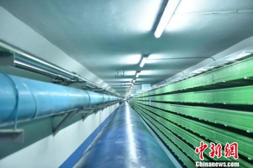 城市综合管廊工程内景。 刘晋文 摄