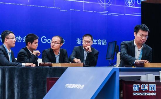 周睿羊落子 图片来源:新华网 新华社记者徐昱摄