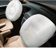 汽车前排座椅弹出的安全气囊。图片来源:中国消费者协会