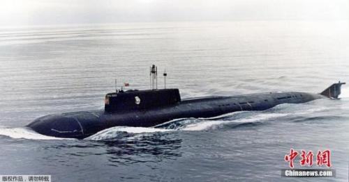 资料图:俄罗斯核潜艇