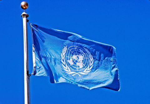 资料图:联合国旗帜