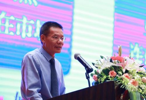 浙江稠州商业银行行长周瑞谷 (供图:吴更仁)
