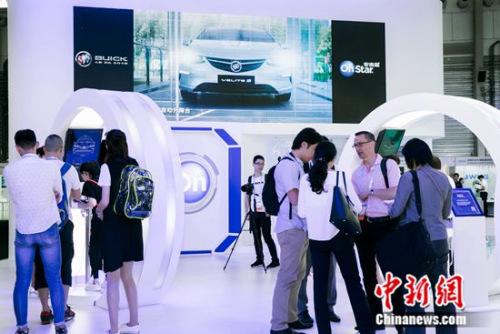 上汽通用汽车OnStar携手别克品牌展示最新OnStar手机应用、车联保险,车联智能家居等围绕车主生活的新服务