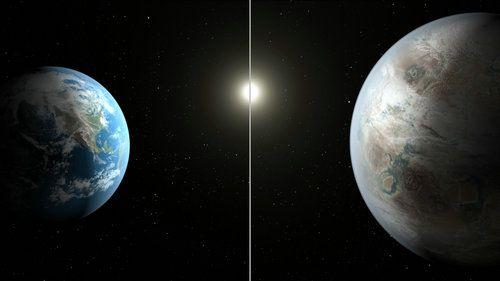資料圖:地球及其衛星