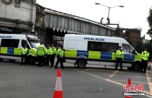 資料圖:倫敦警方