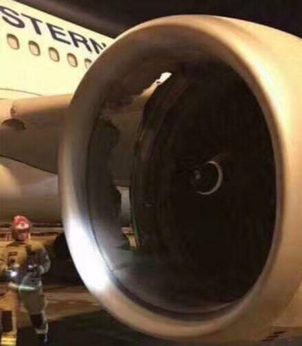 东航一悉尼飞上海客机发动机机匣损伤及时返航