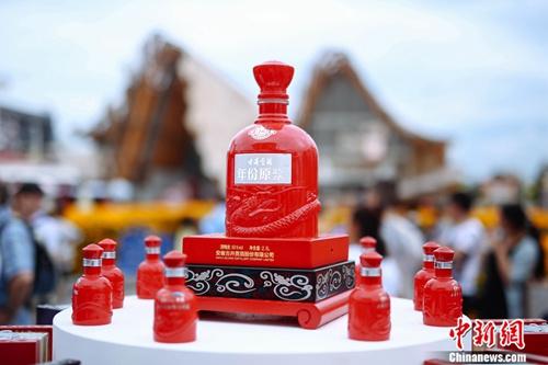 古井贡酒在意大利米兰世博会上