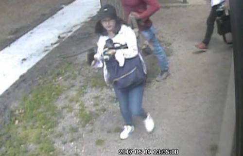 留美女生失踪前监控录像公布所乘车辆或成关键