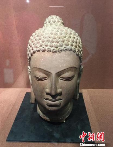 百余件中印雕塑作品亮相杭州展两国千年文化交往史