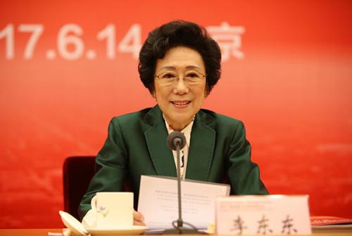 全国政协委员、原新闻出版总署副署长、中国新闻文化促进会理事长李东东致辞