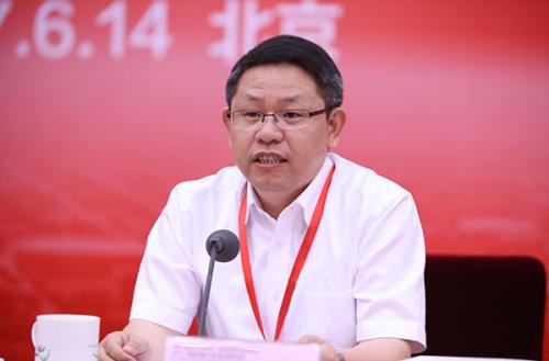 国家新闻出版广电总局规划发展司司长朱伟峰发言