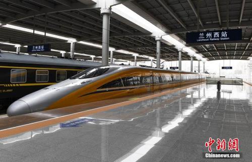 高铁站资料图。杨艳敏 摄