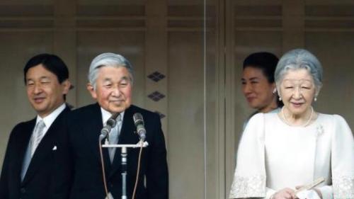 资料图:日本天皇夫妇