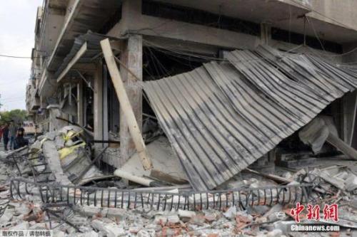 资料图:战火中的叙利亚