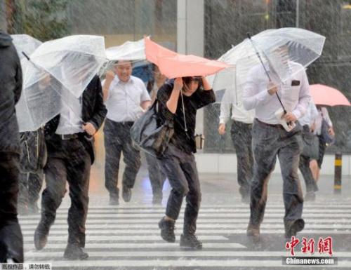 资料图:暴雨天气