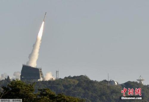 资料图:日本此前发射火箭