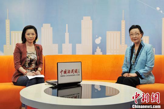 方李邦琴谈海外华侨华人发展与融入