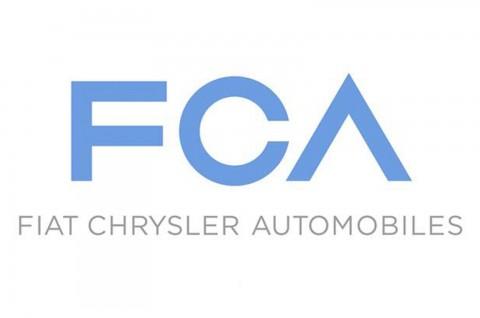 公布了新公司的全新名称及标志-菲亚特克莱斯勒汽车公司(FCA).高清图片