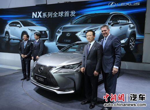 全新NX领衔LEXUS雷克萨斯亮相2014北京车展