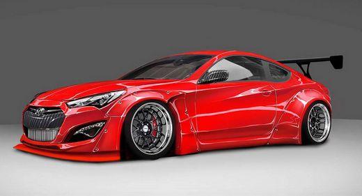 劳恩斯酷派,该车将亮相2014美国拉斯维加斯国际汽车改装车及高清图片