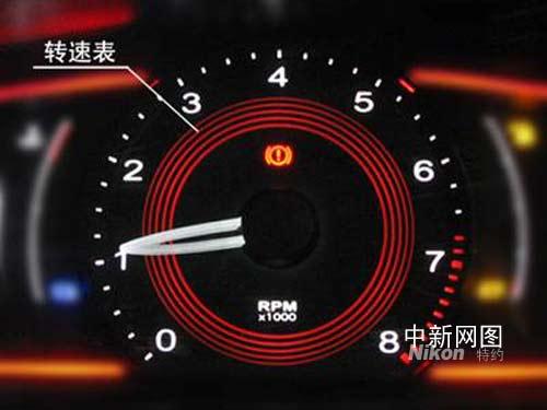 荣威550超酷仪表盘详解高清图片