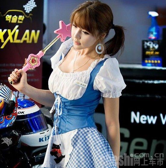 最可爱车模李智友(3)