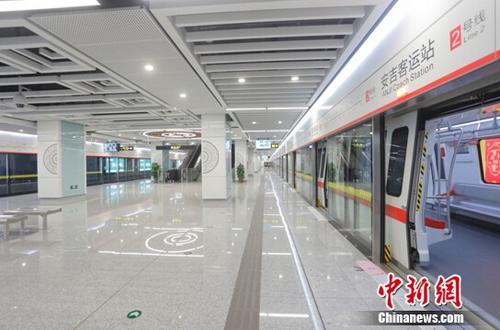 中国建筑全专业主导投资建设南宁地铁2号线通车试运营