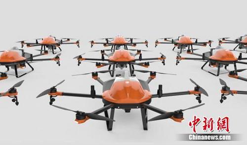 蜂巢科技在京发布无人机2.0系统和嗡嗡农服
