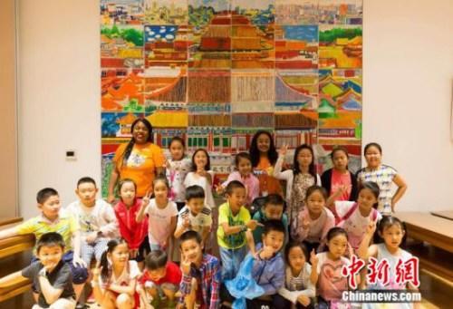 VIPKID走进故宫推出传统文化英语课