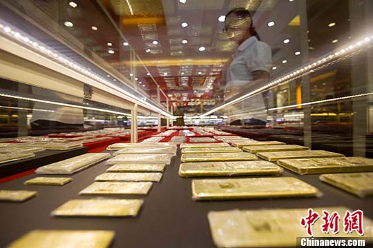 中国黄金资源拥有量连续12年居全球第二