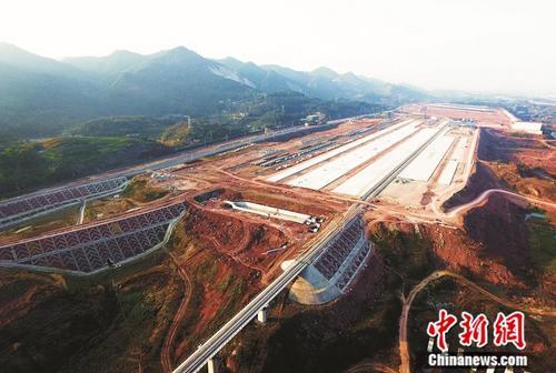 重庆第二个国家级铁路物流中心年底投运