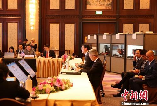 第三届中国香港——东盟经贸部长会议在曼谷举行