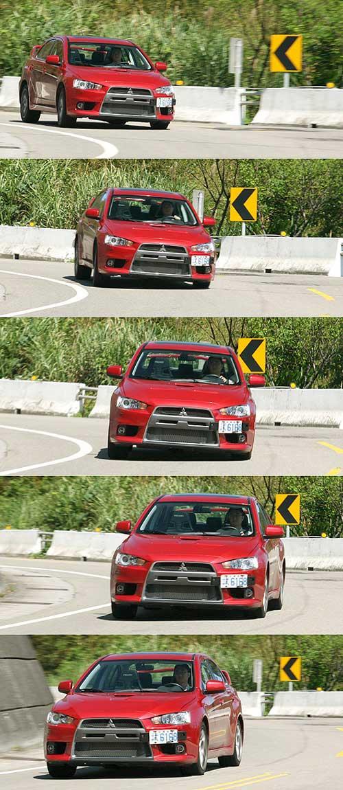 飙如狂浪 试驾三菱蓝瑟EVO X高清图片
