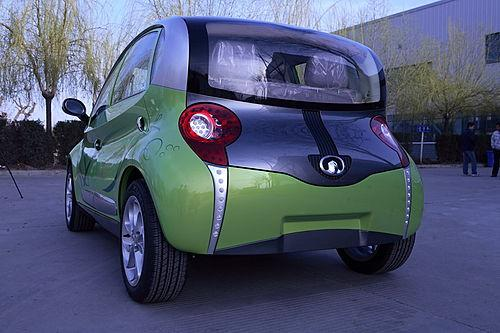 长城首款四门电动轿车欧拉曝光 将亮相上海车展高清图片