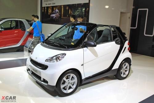 奔驰smart敞篷版 从smrat到迈巴赫 进口车展奔驰展台高清图片