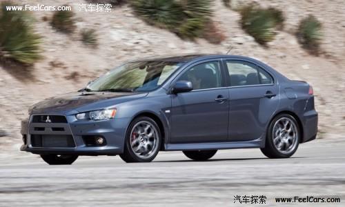 新款三菱蓝瑟EVO MR开售 起价4.1万美元高清图片