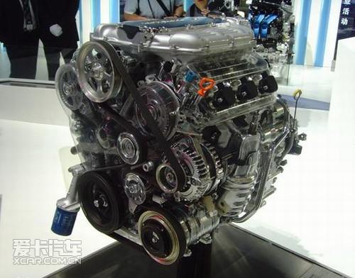 本田v6发动机实拍图图片