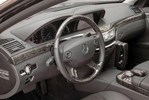 奔驰s600中控台按钮图解