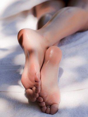 脚趾呈现怪异颜色