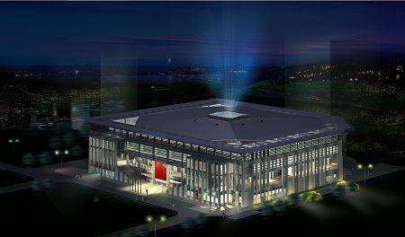 获悉,亚运广州体育学院体育馆设计方案由广东省建科建筑设计院夺标
