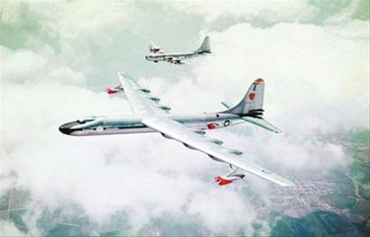 冷战初期美苏核动力飞机疯狂竞赛(图)
