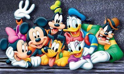 迪士尼城堡卡通图片