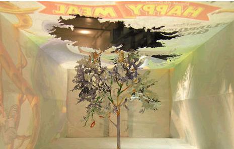 艺术家制作出巧夺天工的纸艺术品(组图)(2)