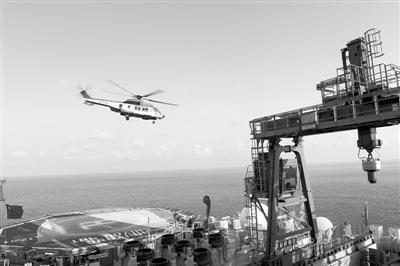 """走近""""海洋石油981""""钻井平台:史上最大人工装备"""