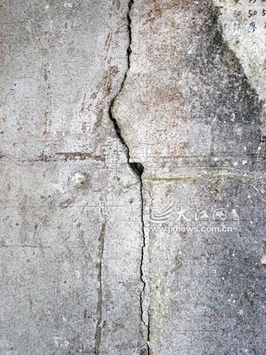 武功山白鹤观前世今生:曾6次被毁 墙体多处开裂