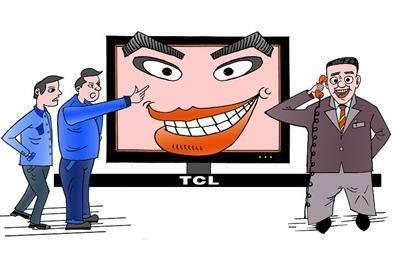 TCL液晶电视半年就黑屏 寿命短售后服务差
