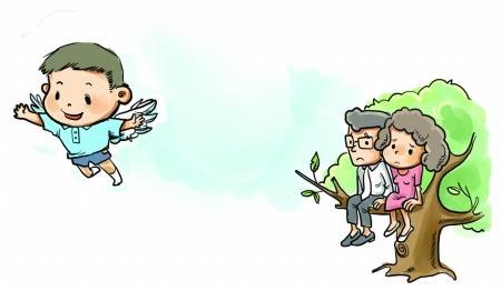 """财经中心 生活频道     原标题:新生开学离开家 """"空巢""""父母别空心图片"""