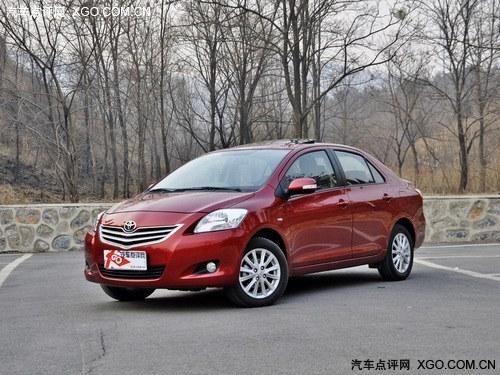 上海:丰田威驰全系降2.1万元 家用实惠轿车